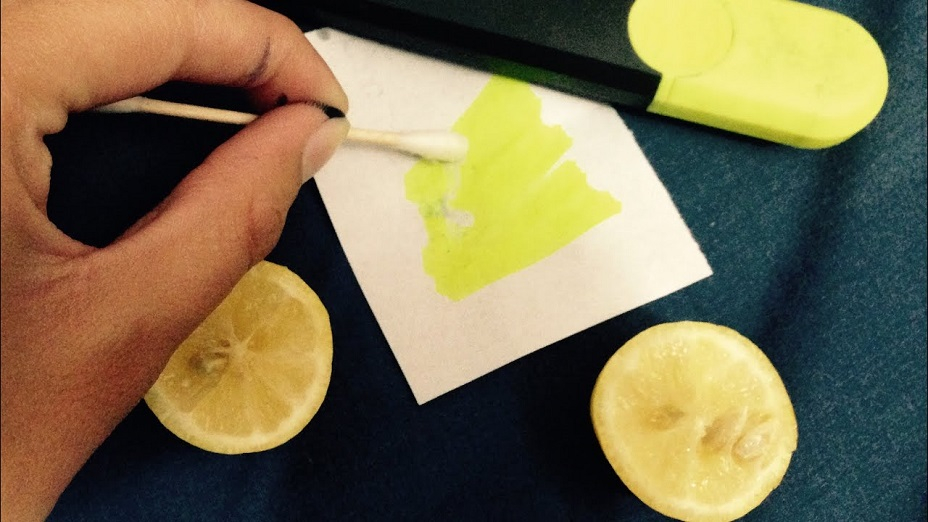 Get Highlighter Out Of Fabric
